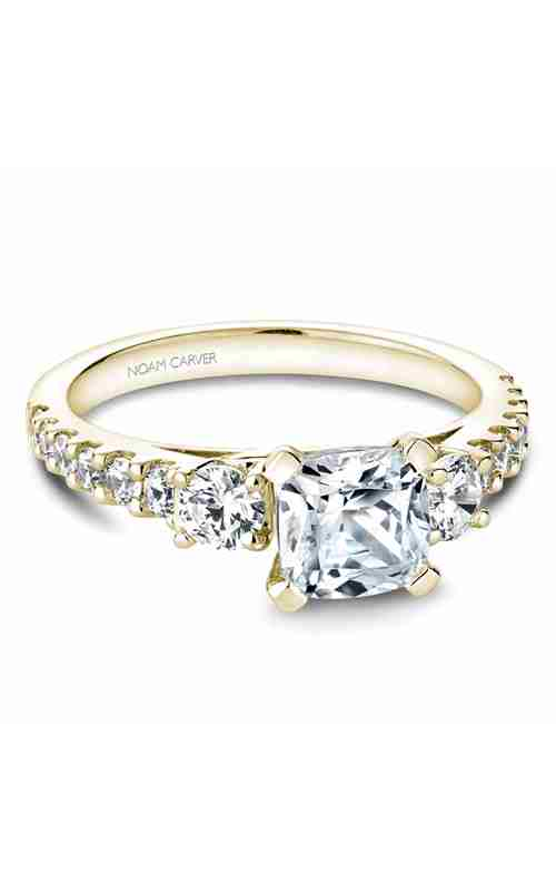 Noam Carver 3 Stone Engagement Ring B205-01YM product image