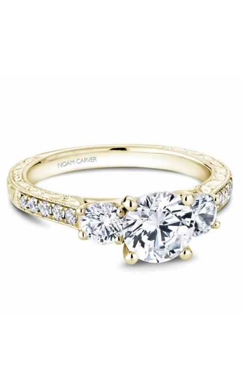 Noam Carver 3 Stone Engagement Ring B206-01YM product image