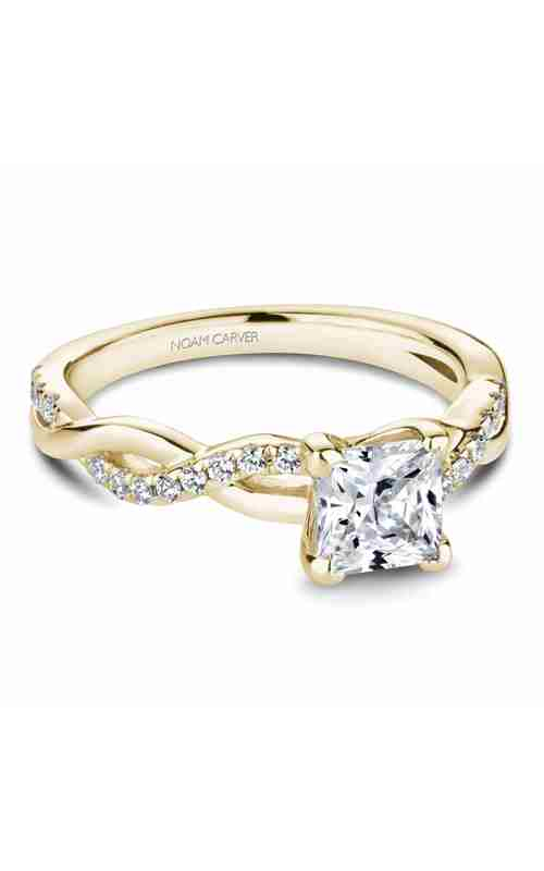 Noam Carver Twist Band Engagement Ring B185-01YM product image