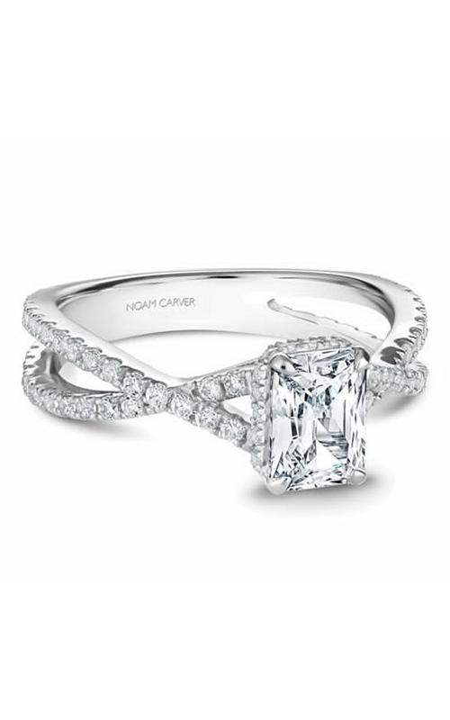 Noam Carver Twist Band Engagement Ring B241-01WM product image