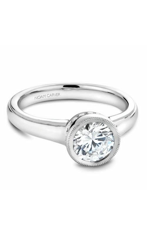 Noam Carver Bezel Engagement Ring B025-01WM product image