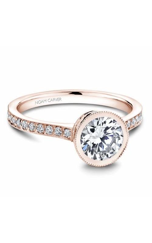 Noam Carver Bezel Engagement Ring B025-02RM product image