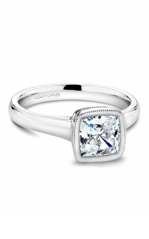 Noam Carver Bezel Engagement Ring B026-01WM product image