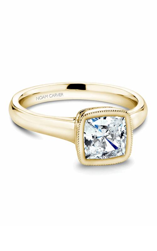 Noam Carver Bezel Engagement Ring B026-01YM product image