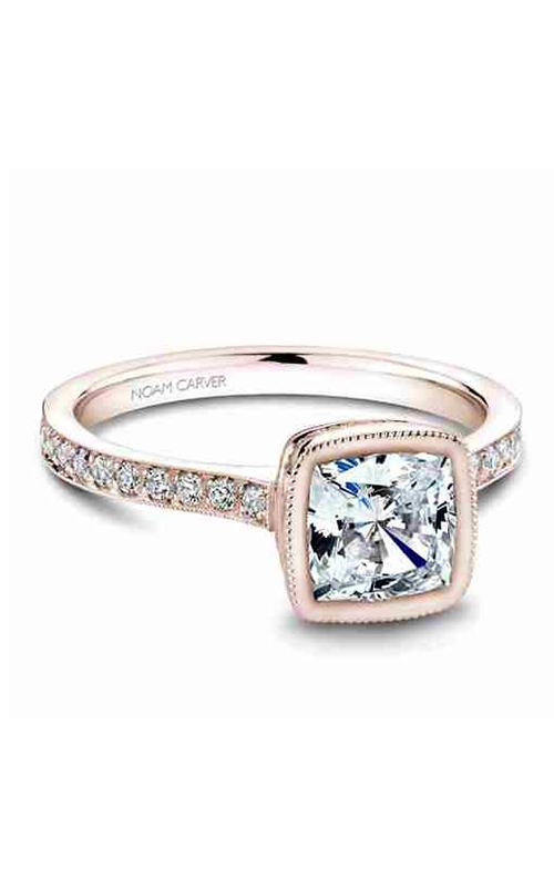Noam Carver Bezel Engagement Ring B026-02RM product image