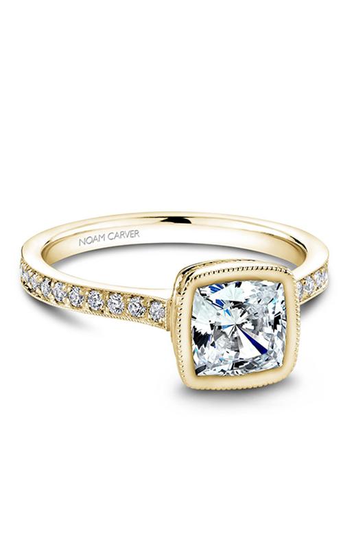 Noam Carver Bezel Engagement Ring B026-02YM product image