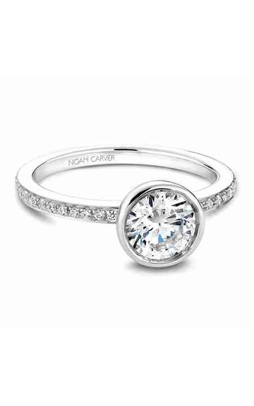 Noam Carver Bezel Engagement Ring B095-02WM product image