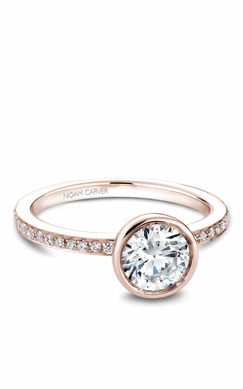 Noam Carver Bezel Engagement Ring B095-02RM product image