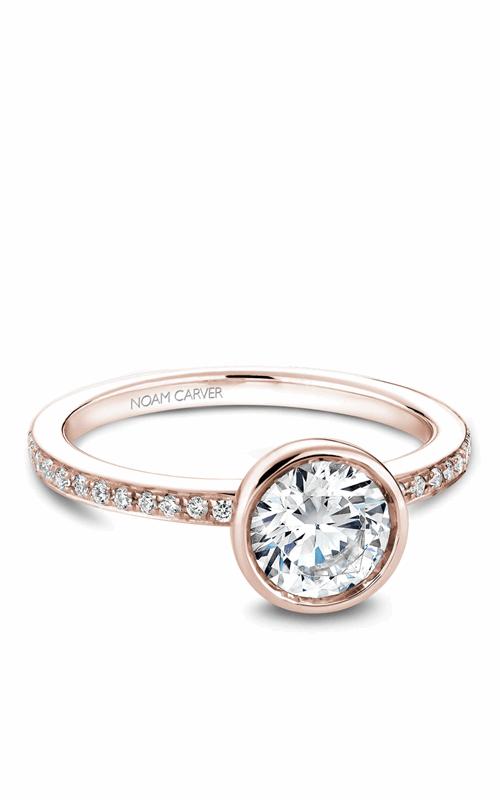 Noam Carver Bezel Engagement Ring B095-02RM product image