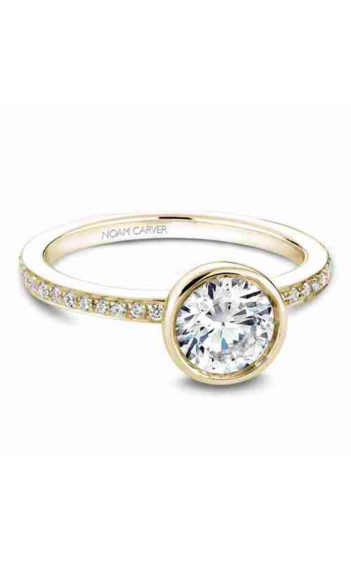 Noam Carver Bezel Engagement Ring B095-02YM product image