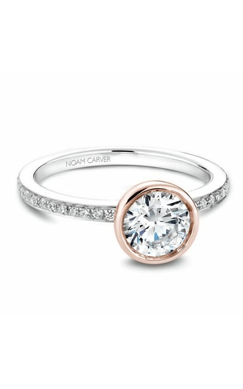 Noam Carver Bezel Engagement Ring B095-02WRM product image