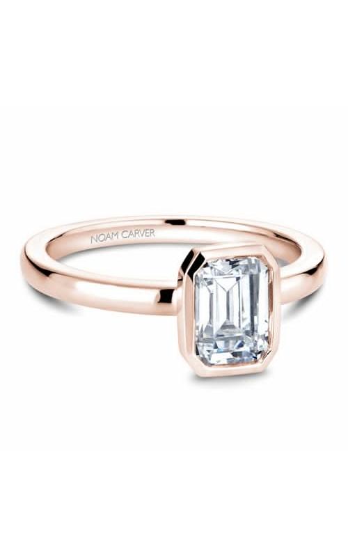 Noam Carver Bezel Engagement Ring B095-03RM product image
