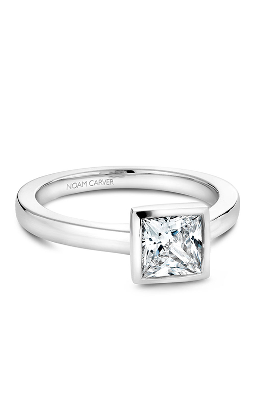 Noam Carver Bezel Engagement Ring B095-06WM product image