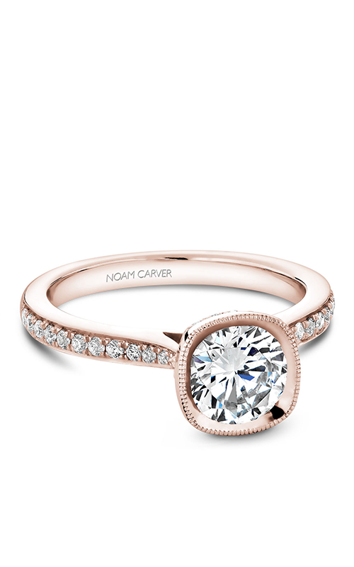 Noam Carver Bezel Engagement Ring B141-12RM product image