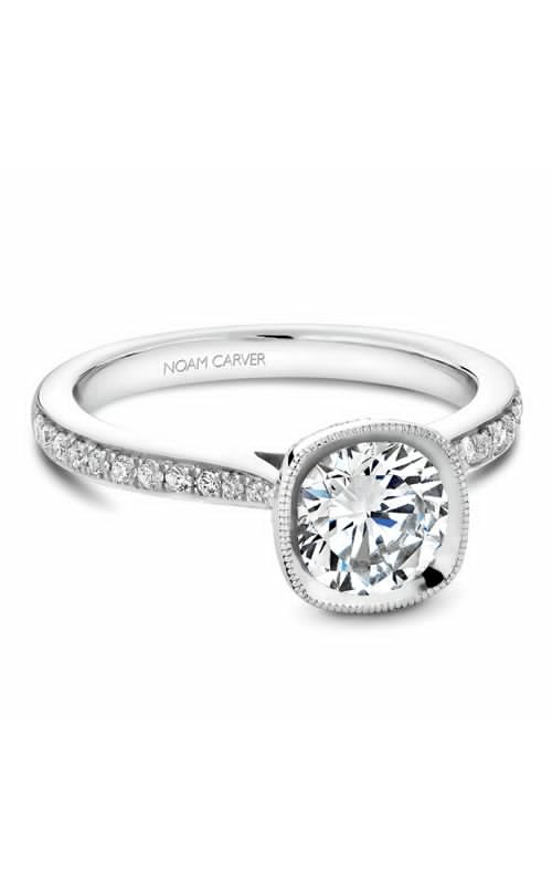 Noam Carver Bezel Engagement Ring B141-13WM product image