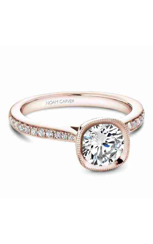 Noam Carver Bezel Engagement Ring B141-13RM product image