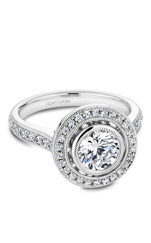 Noam Carver Bezel Engagement Ring R040-02WM product image