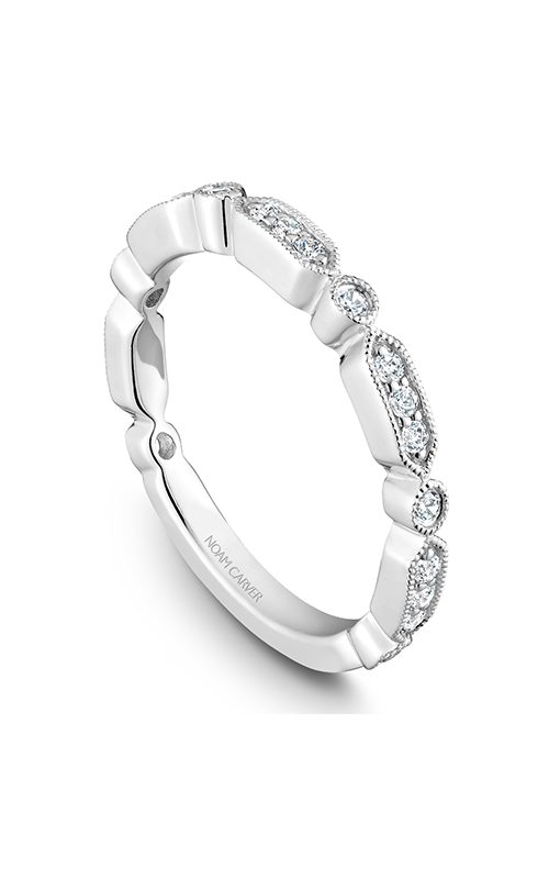 Noam Carver Wedding Band STB15-1WM-D product image
