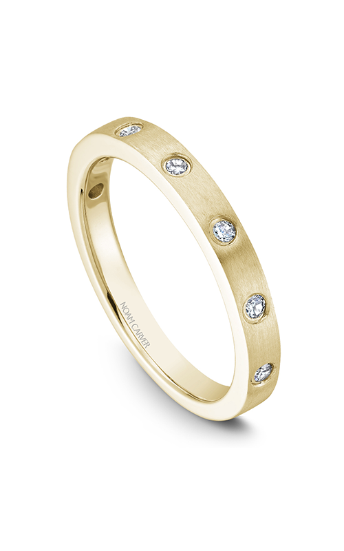 Noam Carver Wedding Band STB2-1YM-D product image