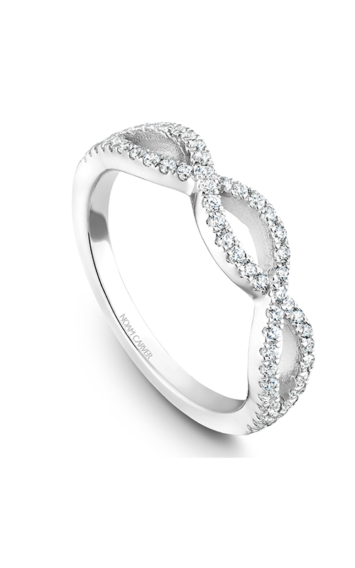 Noam Carver Wedding Band STB24-1WM-D product image