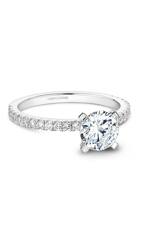 Noam Carver Solitaire Engagement Ring B270-01WM product image