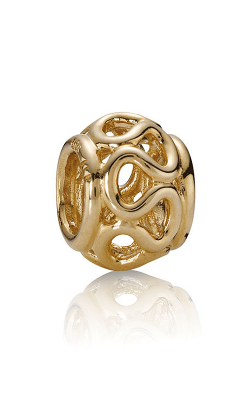 PANDORA Intertwined Swirl, 14K Gold 750452 (Retired) product image