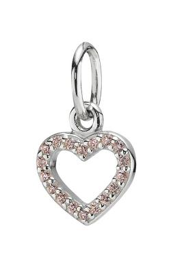 Pandora Be My Valentine Pendant, Pink CZ 390325PCZ (Retired) product image