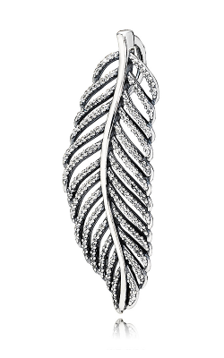 PANDORA Light As A Feather Pendant Clear CZ 390350CZ product image