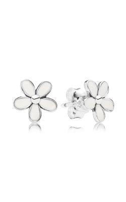 PANDORA Darling Daisies, White Enamel Earrings 290538EN12 (Retired) product image