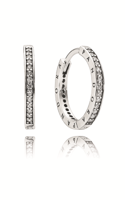 Pandora Signature Clear CZ Earrings 290558CZ product image