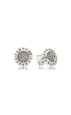 Pandora Signature Stud Earrings Clear CZ 290559CZ product image
