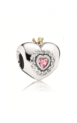 Pandora Princess Heart Pink CZ Charm 791375PCZ product image