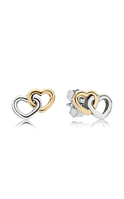 Pandora Heart To Heart Stud Earrings 290567 product image
