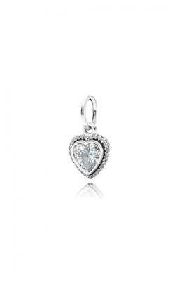PANDORA Sparkling Love Pendant Clear CZ Pendant 390366CZ product image