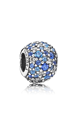 Pandora Sky Mosaic Pave Mixed Blue Crystals & Clear CZ Charm 791261NSBMX product image