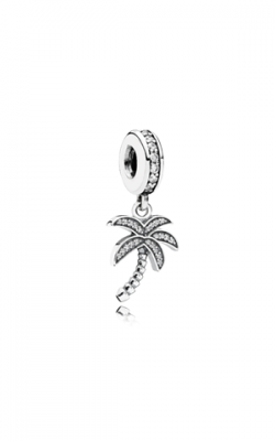 PANDORA Sparkling Palm Tree Dangle Charm Clear CZ 791540CZ product image