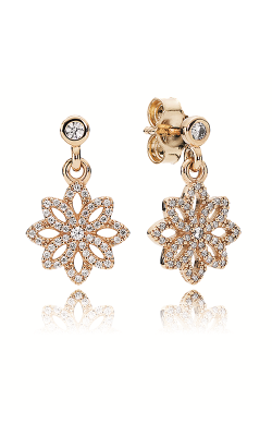 PANDORA Lace Botanique Clear CZ Earrings 250323CZ product image