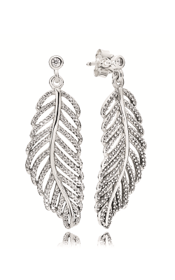 Pandora Light as a Feather Clear CZ Earrings 290584CZ product image