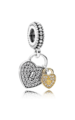 Pandora Love Locks Dangle Charm Clear CZ 791807CZ product image