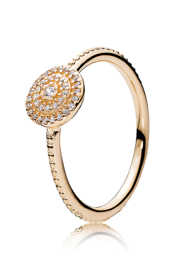 Pandora Radiant Elegance Ring, 14K Gold & Clear CZ 150184CZ-48 product image