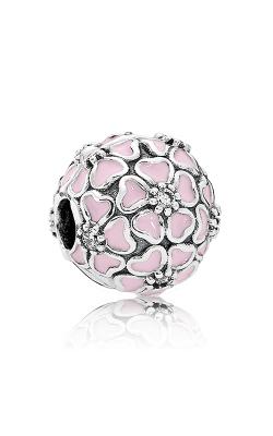 PANDORA Cherry Blossom Clip Soft Pink Enamel & Clear CZ 791826EN40 product image