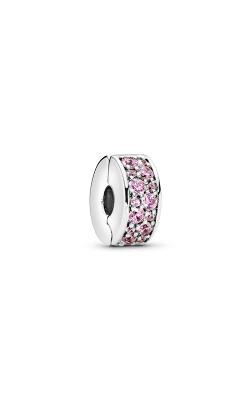 Pandora Shining Elegance Clip Pink CZ 791817PCZ product image