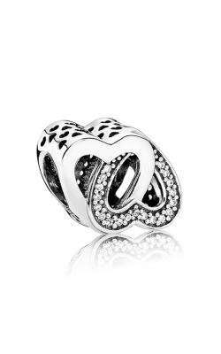 Pandora Entwined Love Charm Clear CZ 791880CZ product image