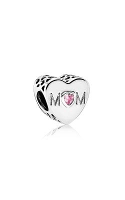 PANDORA Mother Heart Charm Pink CZ 791881PCZ product image
