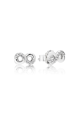 PANDORA Infinite Love Clear CZ Earrings 290695CZ product image