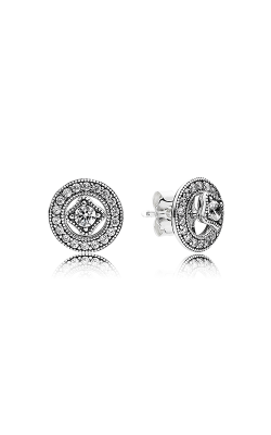 PANDORA Vintage Allure Clear CZ Earrings 290721CZ product image