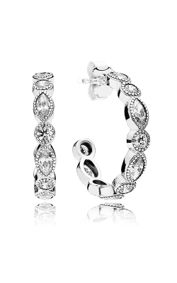 Pandora Alluring Brilliant Marquise Clear CZ Earrings 290724CZ product image