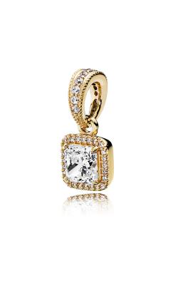 PANDORA Timeless Elegance 14K Gold & Clear CZ Pendant 350180CZ product image