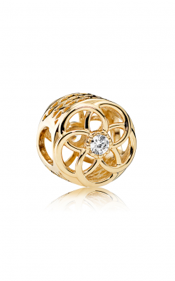Pandora Loving Bloom 14K Gold & Clear CZ Charm 750598CZ product image