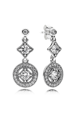 Pandora Vintage Allure, Clear CZ Earrings 290722CZ product image